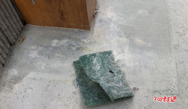 [解決済み]コンクリートに付いたムラをDIY的に補修する。