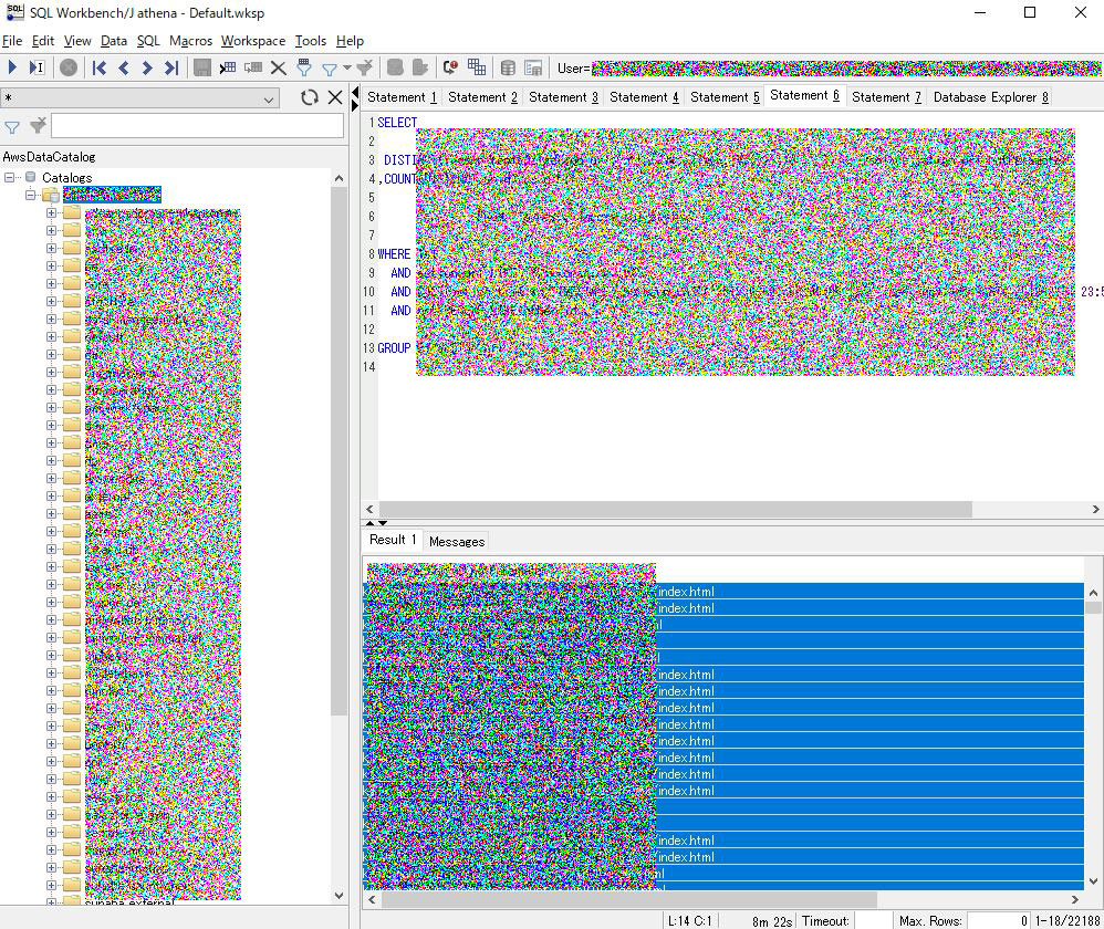 SQL Workbench(JDBCドライバー経由で)Amazon Athenaに接続する
