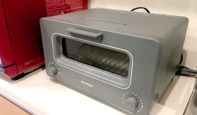 バルミューダのトースターが故障したので修理をした。