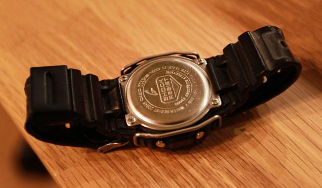 G-Shock:DW-5600Eの電池交換方法 #スピードモデル
